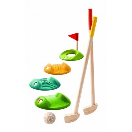 Set de minigolf Plan Toys