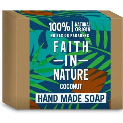 Săpun solid cu cocos 100 g Faith in Nature