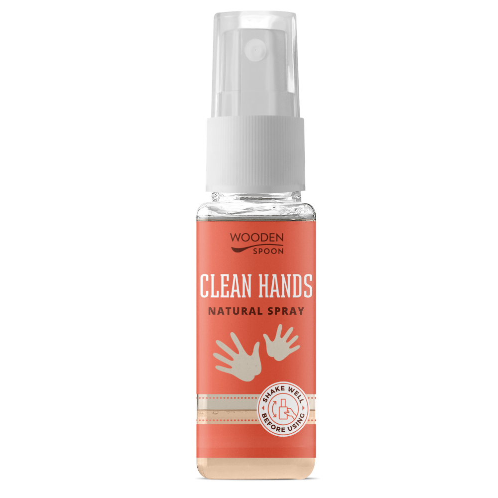 Dezinfectant de mâini natural 50ml - de buzunar - Wooden Spoon