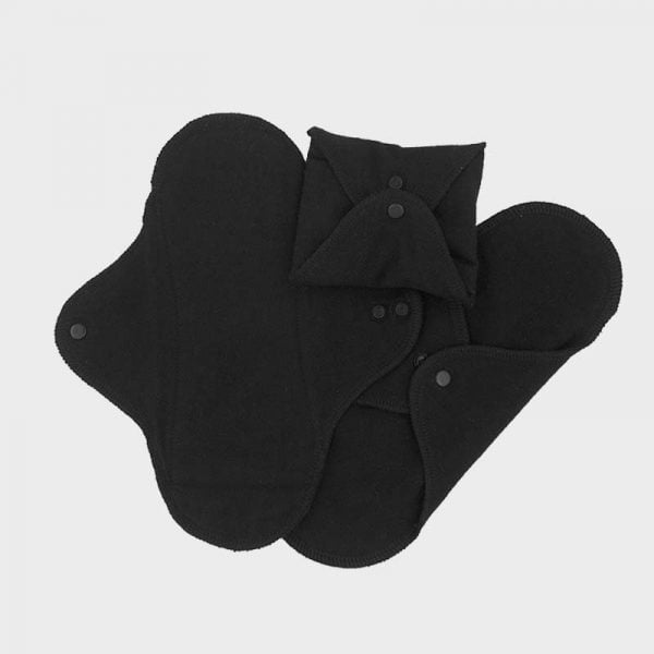 Set 3 absorbante intime lavabile Black Pantyliner ImseVimse