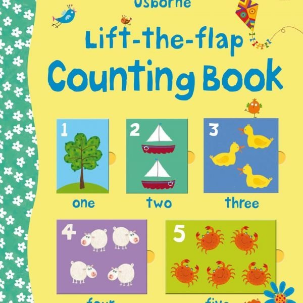 Lift-The-Flap Counting Book - Felicity Brooks Usborne Publishing carte cu clapete