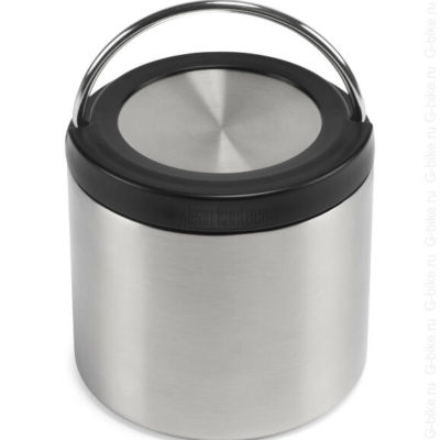 Recipient termoizolant termos alimente Brushed Stainless 473 ml TKWide Klean Kanteen