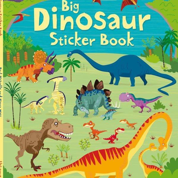 Big Dinosaur Sticker book - Fiona Watt Usborne Publishing carte cu stickere